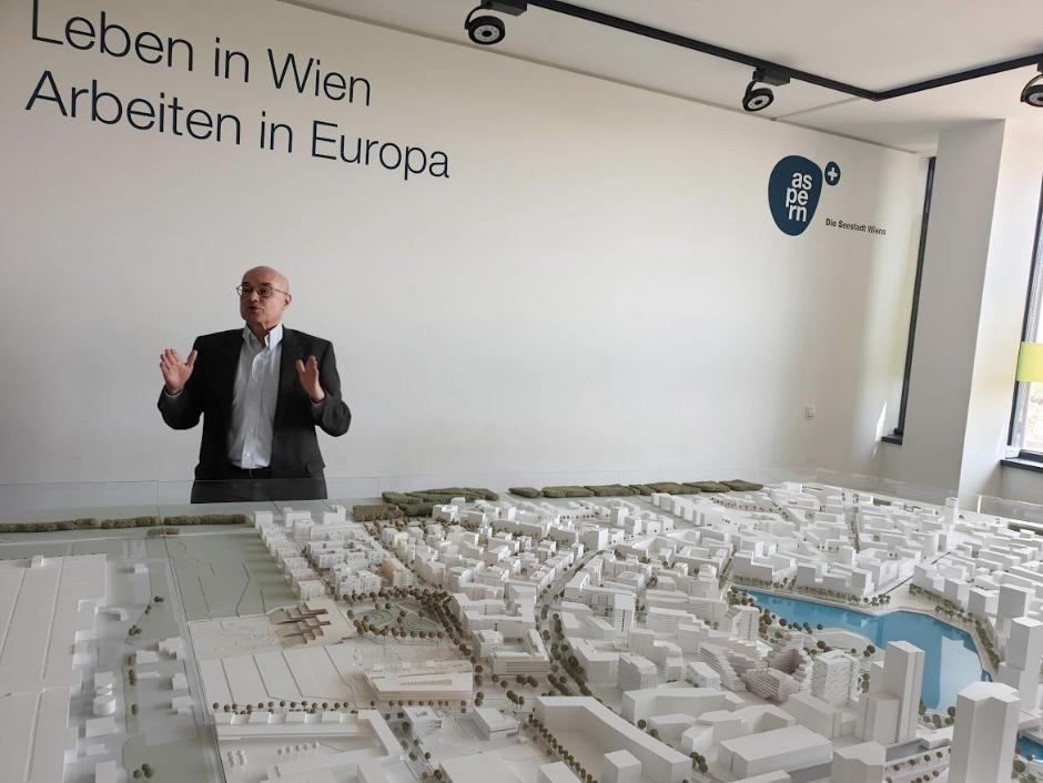 Georg Pammer Siemens, Aspern Smart City