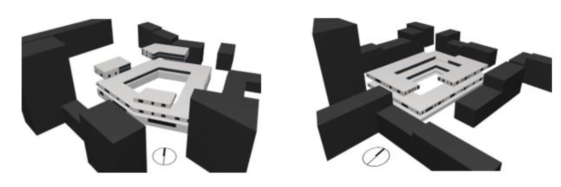 Korttelien simulointimallit käsittävät tyypilliset kerrokset