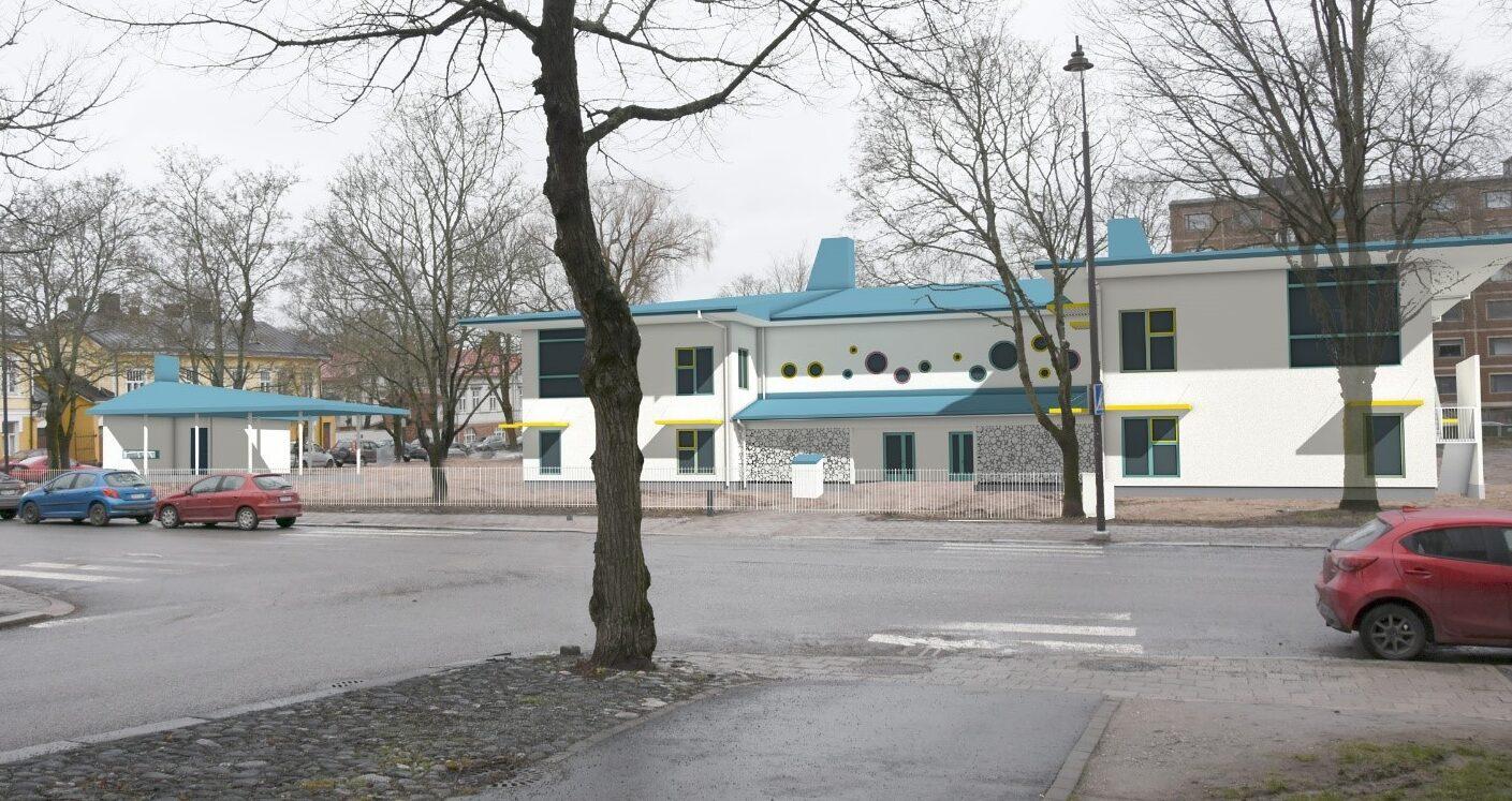 Sofiankadun päiväkodin havainnekuva Turun kaupungissa