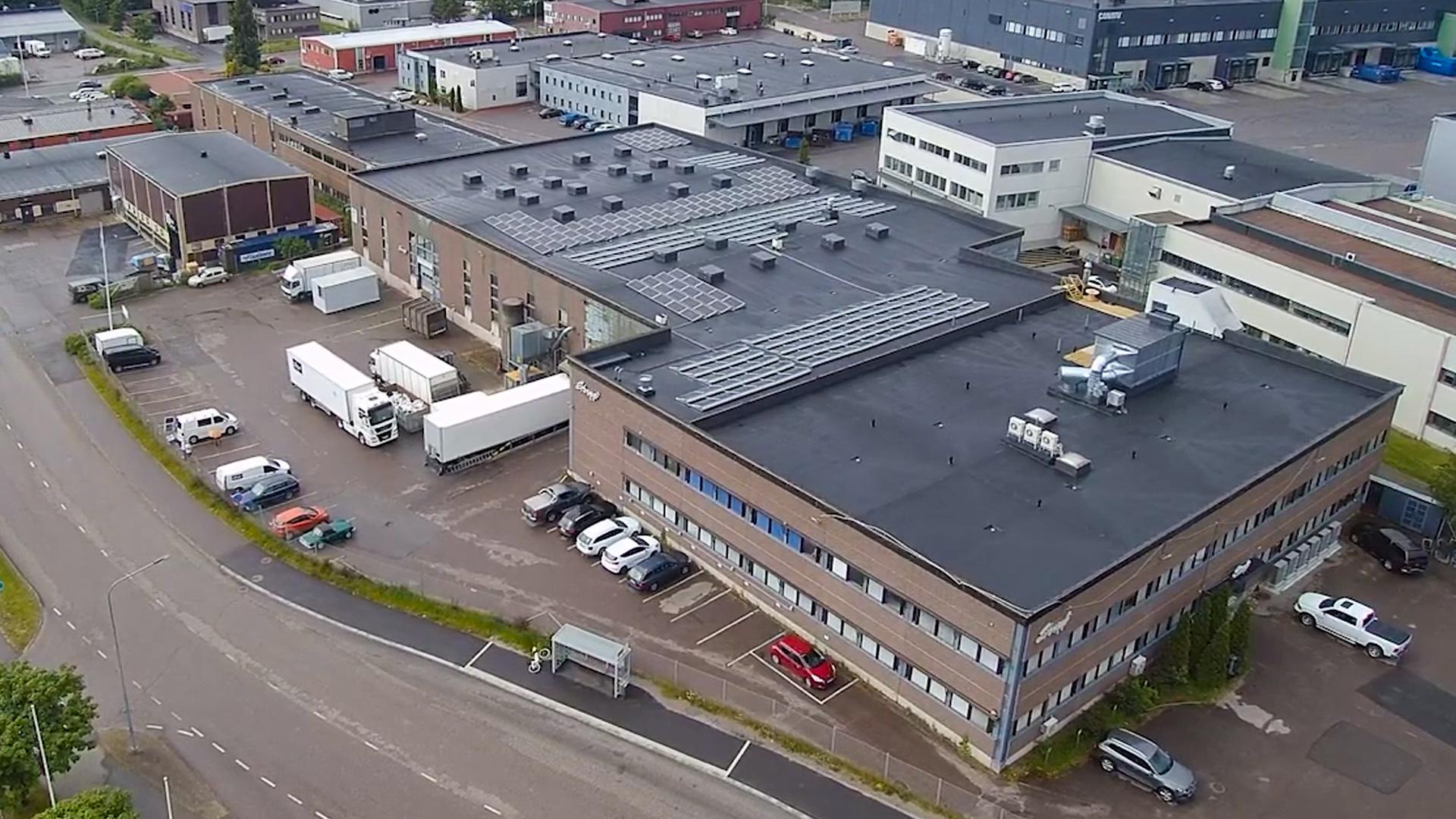 Energiaremontoitu Standin yrityskiinteistö Vantaalla